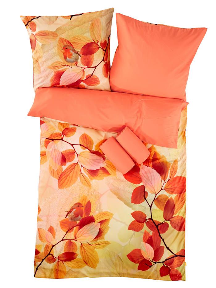 Webschatz Mikrovlákno-saténová posteľná bielizeň Angelika, terra
