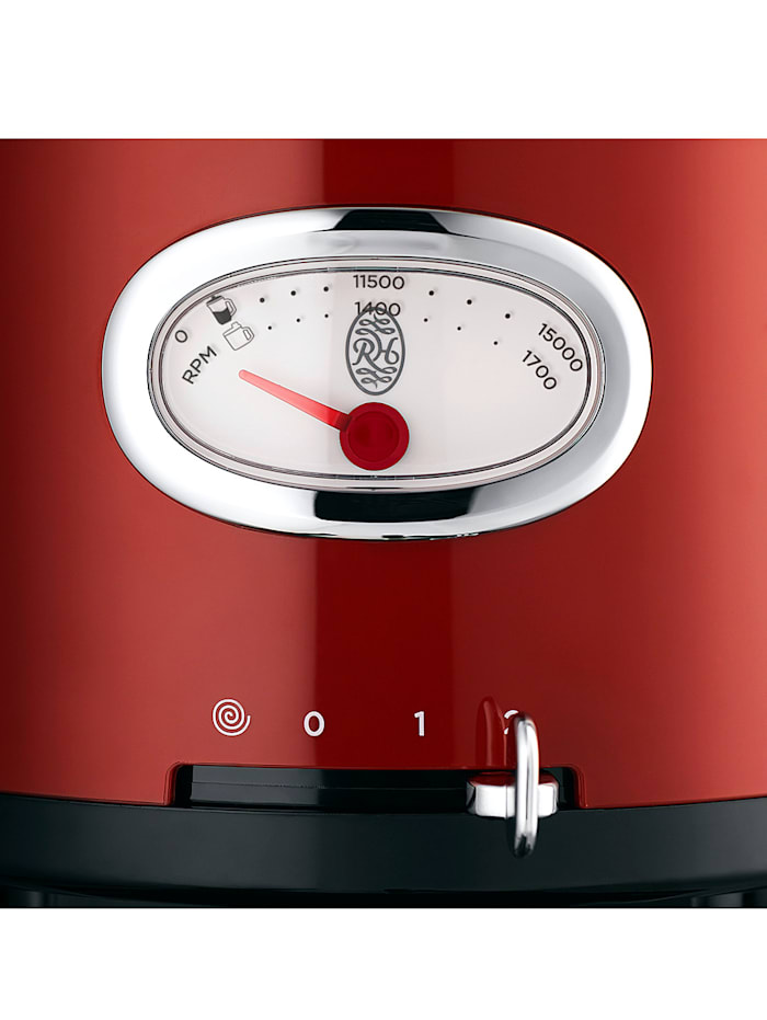 """Robot multifonction """"Retro Ribbon Red"""" Russell Hobbs 25180-56"""