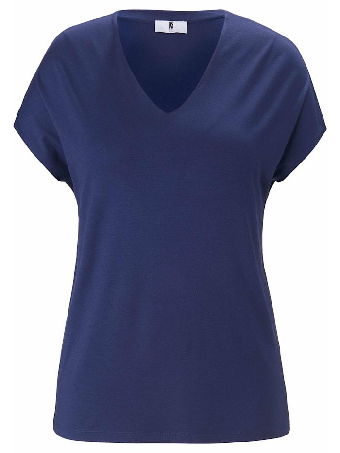 Anna Aura Shirt V-Shirt ., marine