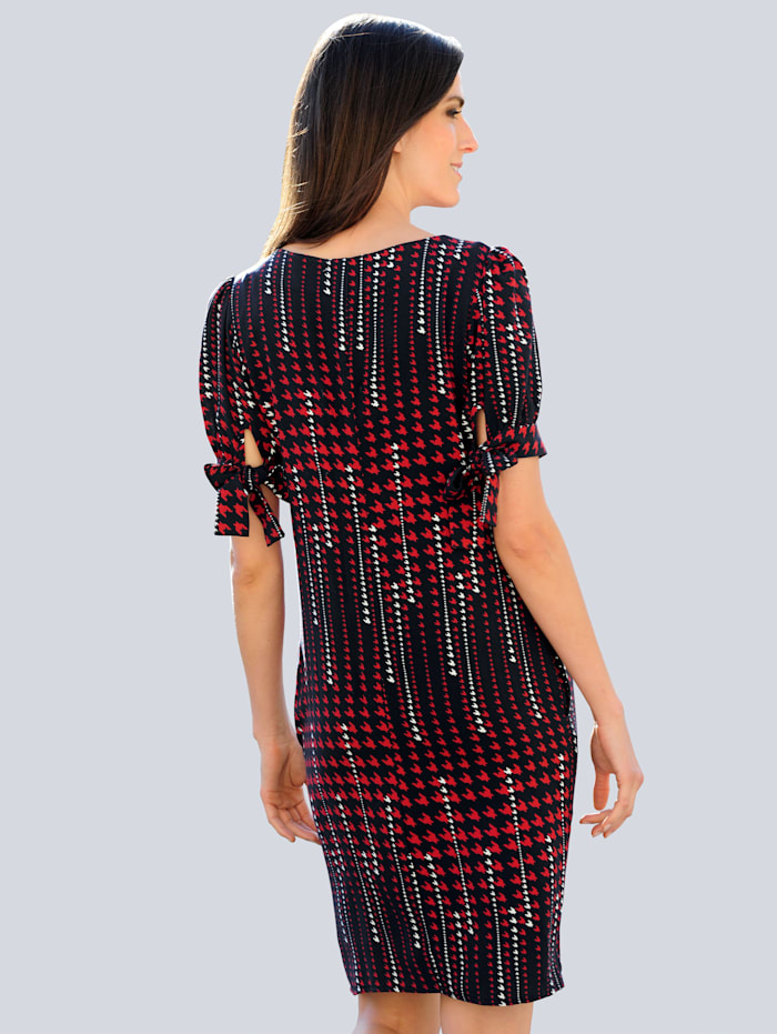 Kleid im exklusivem Dessin von Alba Moda