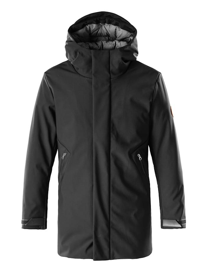 Svalbard Islands Parka Vittorio mit Taschen, black