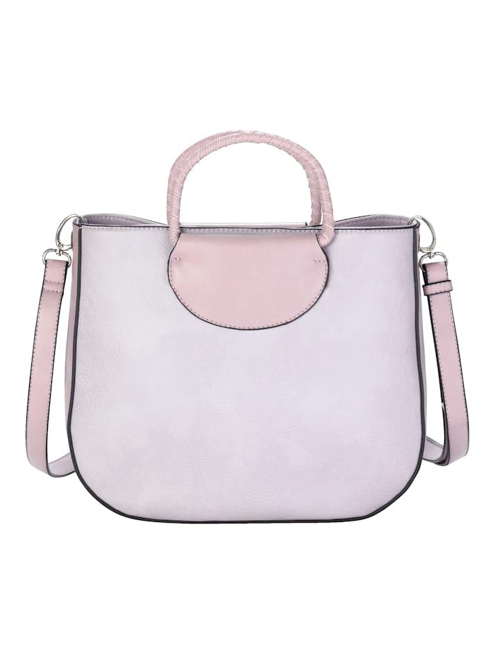 Handväska och liten innerväska som kan tas ur 2 delar