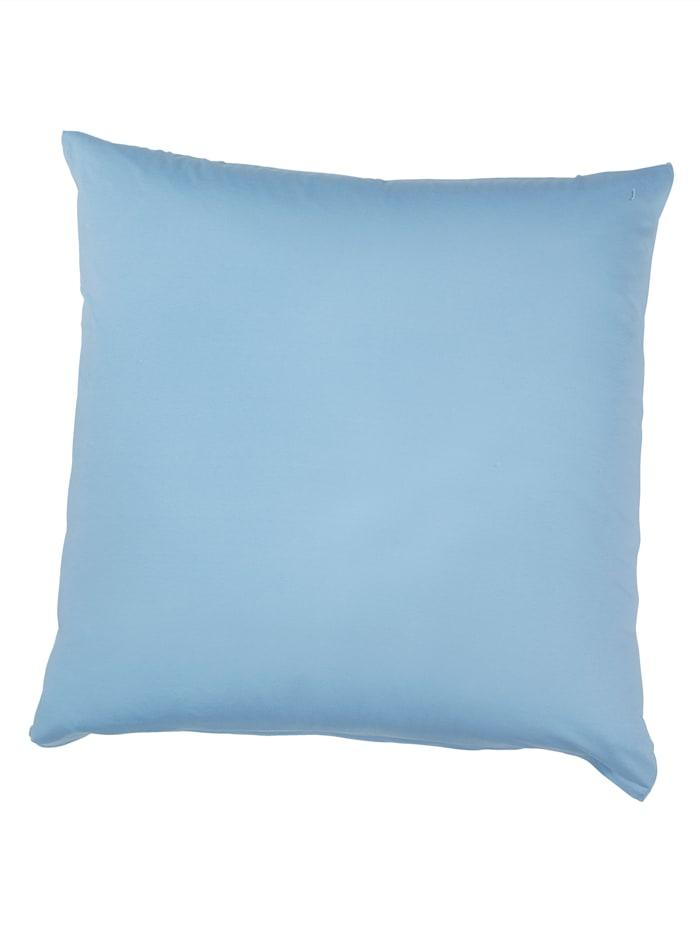 Webschatz Baumwoll 'Basic' Kissen im 2er-Pack, Blau