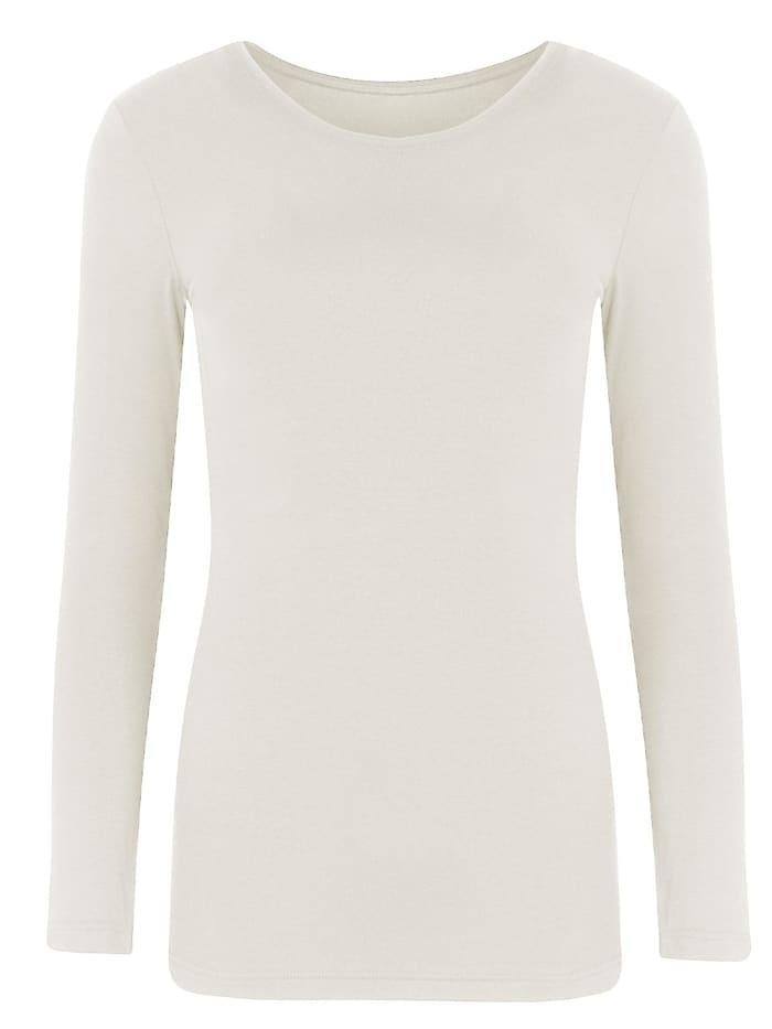 Cybèle Damen Unterhemd Wool-Silk, champagner