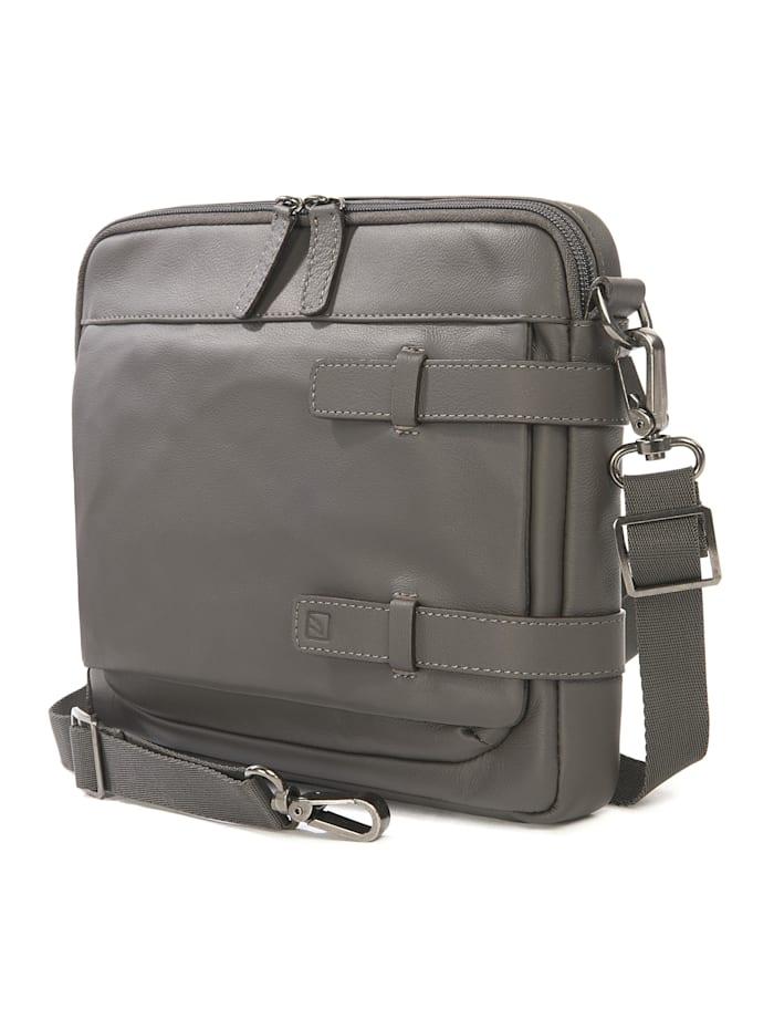 Tablettasche Leather shoulder bag 10 inch