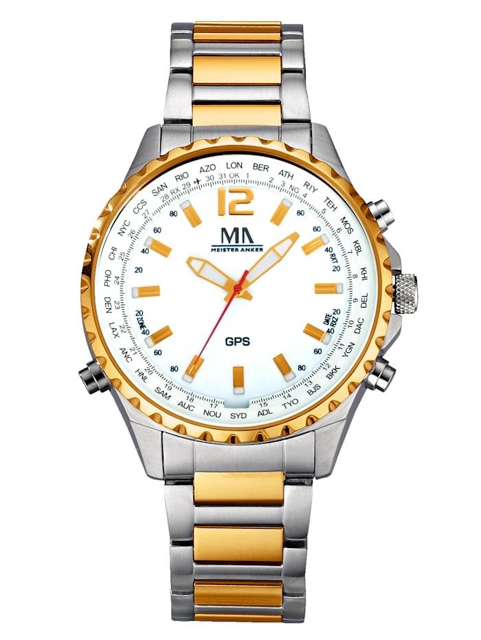 Meister Anker Radiografisch GPS-horloge, Multicolor