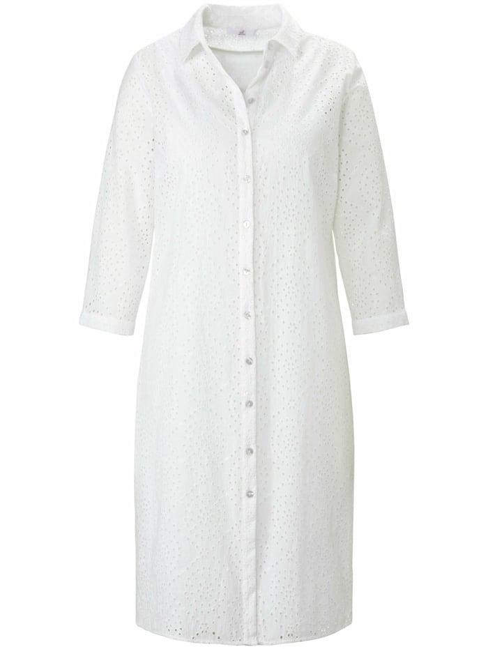Emilia Lay Sommerkleid mit 3/4-Arm, weiß
