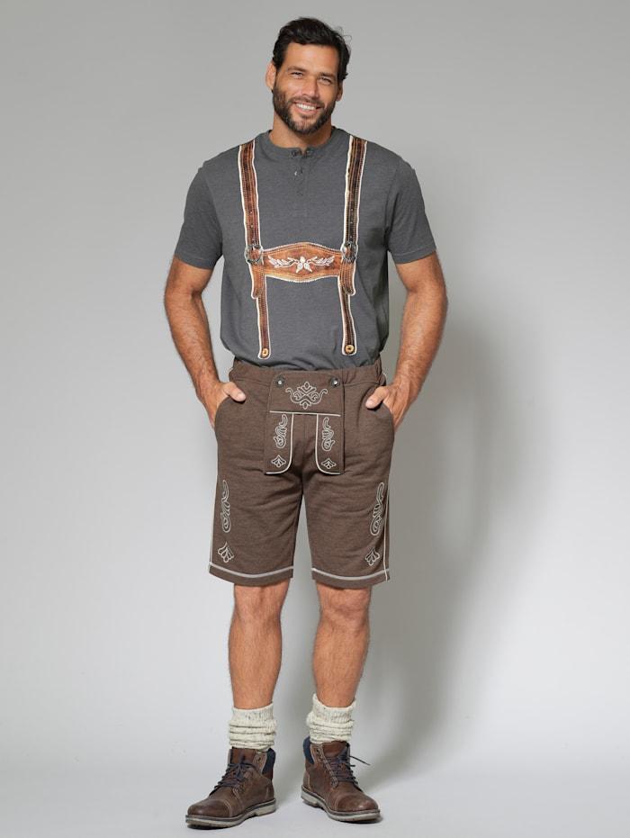 Trachten-Sweatbermuda Regular Fit