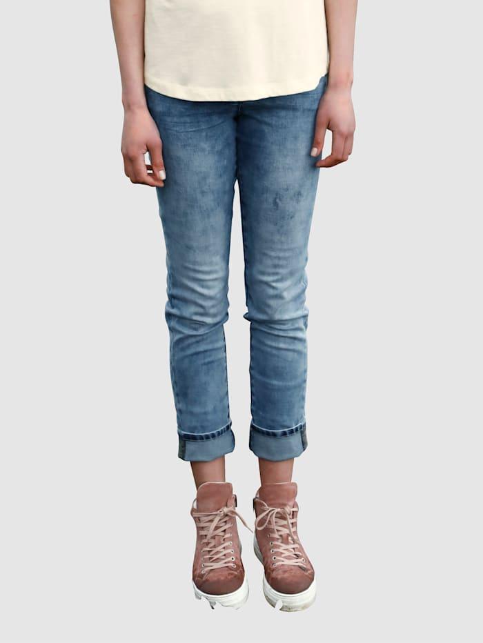 Dress In Jeans mit Umschlag, Blue stone