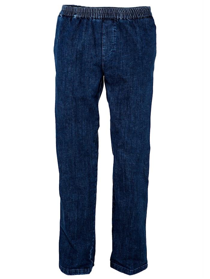 BABISTA Jean taille entièrement extensible, Blue stone