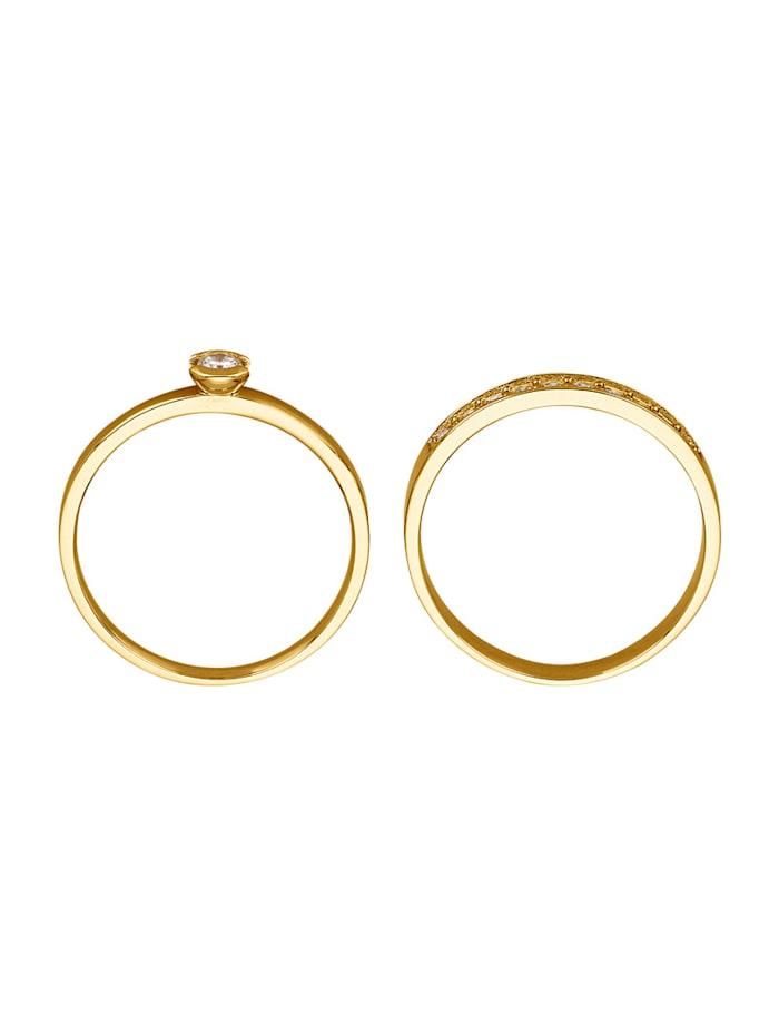 2tlg. Ring-Set