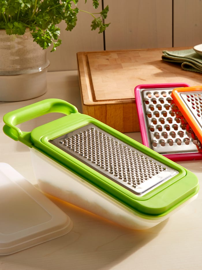 Küchenreibe 4in1, Grün