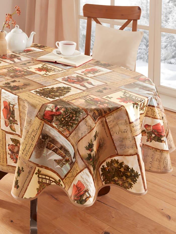 Webschatz Wachstuch-Tischwäsche 'Madita', natur