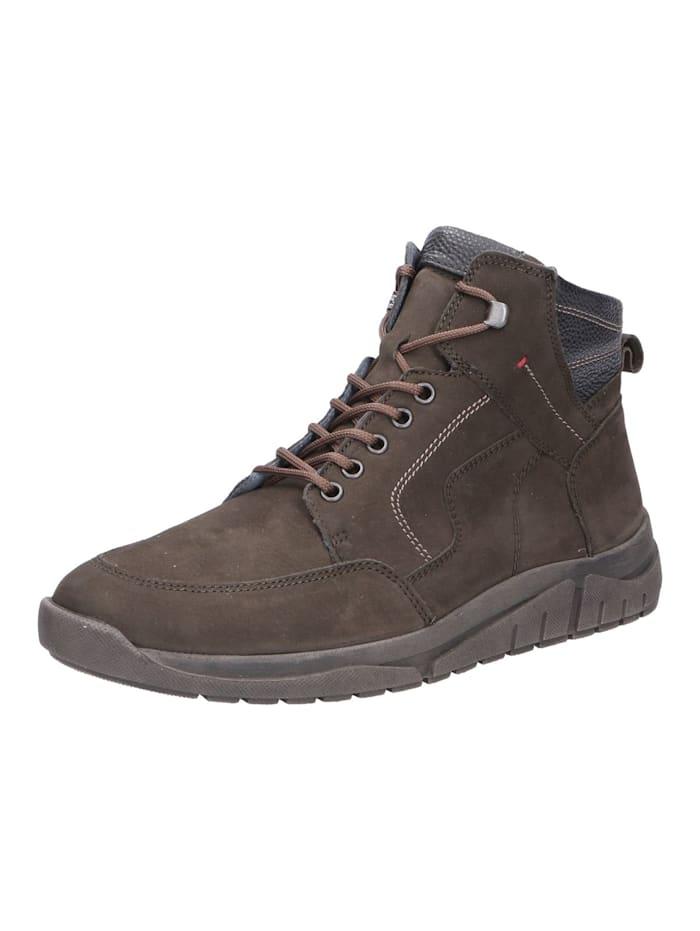 Waldläufer Stiefel Stiefel, schwarz