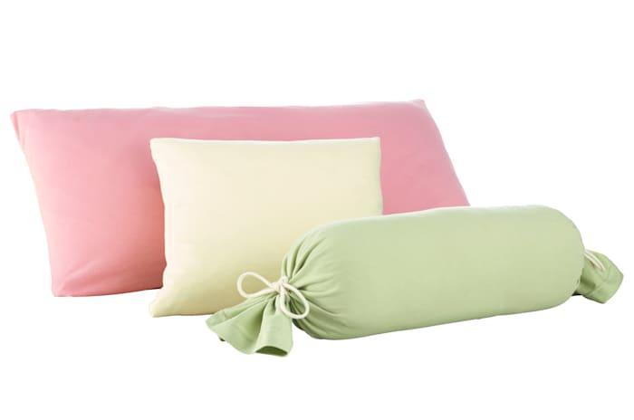 Webschatz Lot de 2 taies d'oreiller, vieux rose