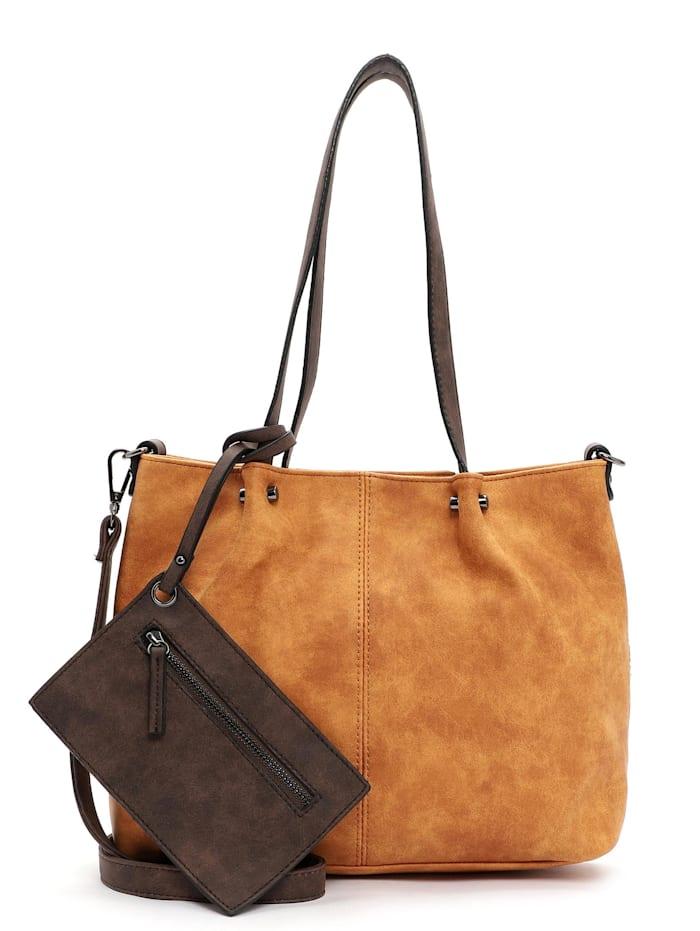 EMILY & NOAH EMILY & NOAH Shopper Bag in Bag Surprise Uni, orange/brown 612