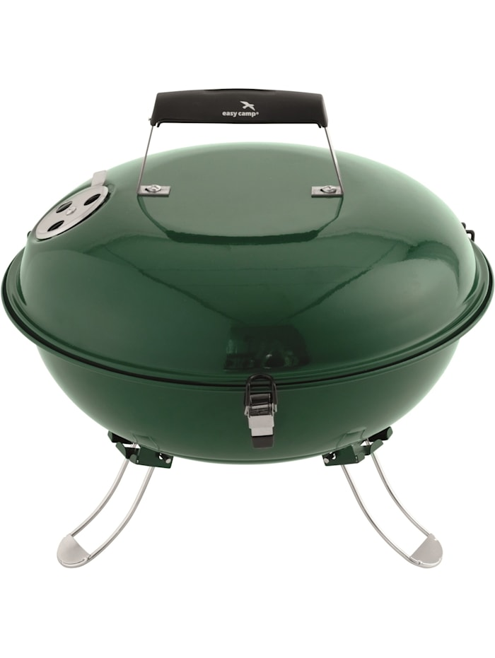 Easy Camp Grill Holzkohlegrill Adventure Grill Green, Grün