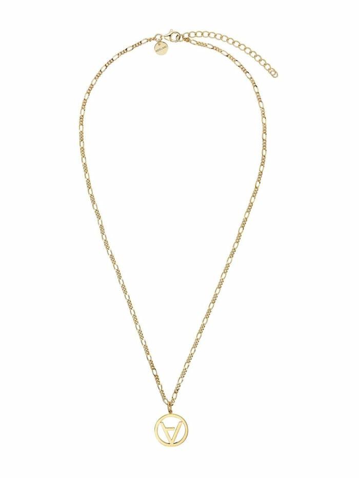 Noelani Kette mit Anhänger für Damen, Sterling Silber 925 vergoldet, Gold