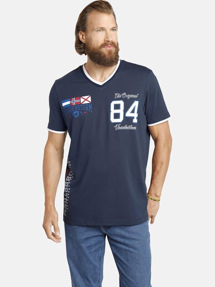 Jan Vanderstorm Jan Vanderstorm T-Shirt SANNO, dunkelblau