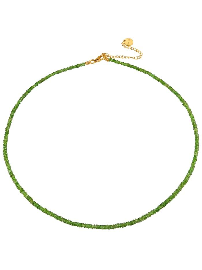 Halskette mit Chromdiopsid