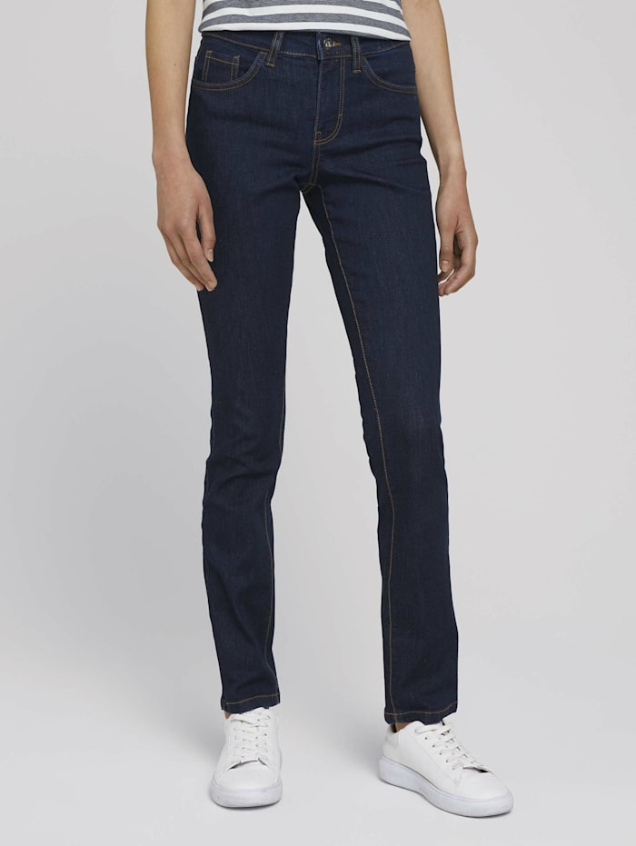Tom Tailor Alexa Slim Jeans, Clean Rinsed Blue Denim