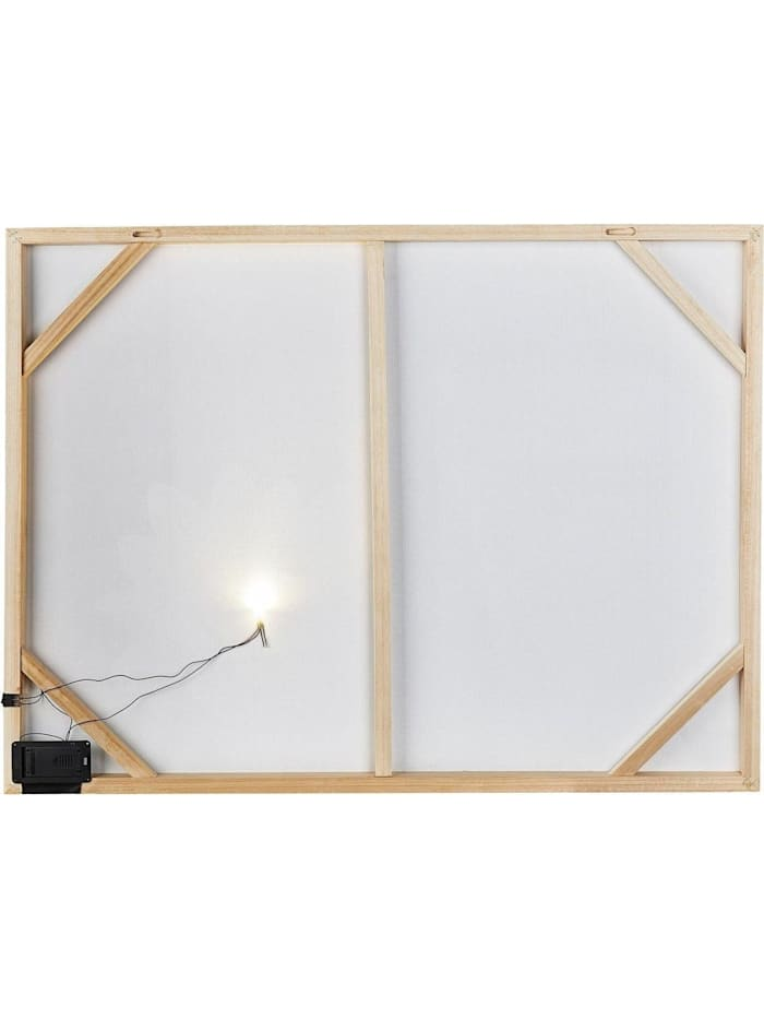 LED-Wandbild 60x80 Lilli
