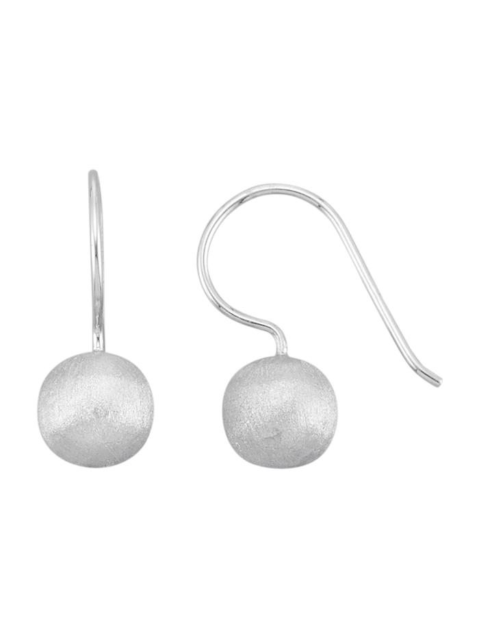 Oorbellen van echt zilver, Zilverkleur