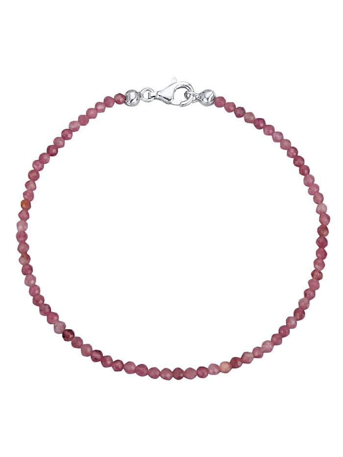 Armband aus Turmalin, Pink