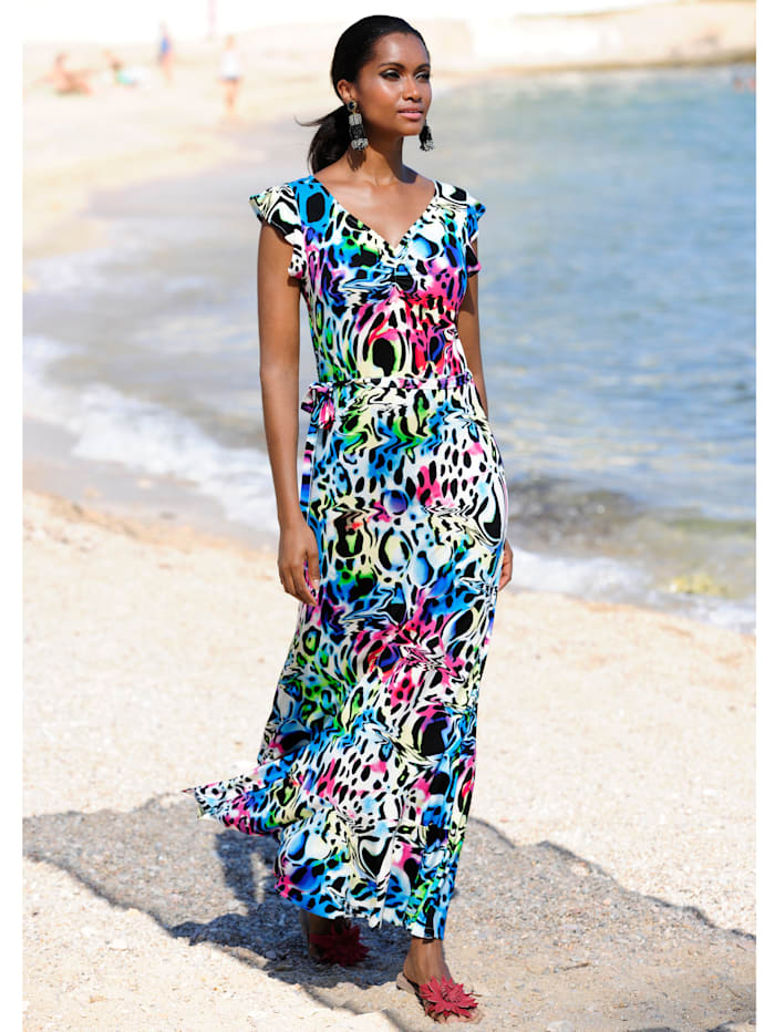 Strandkleid mit Volants