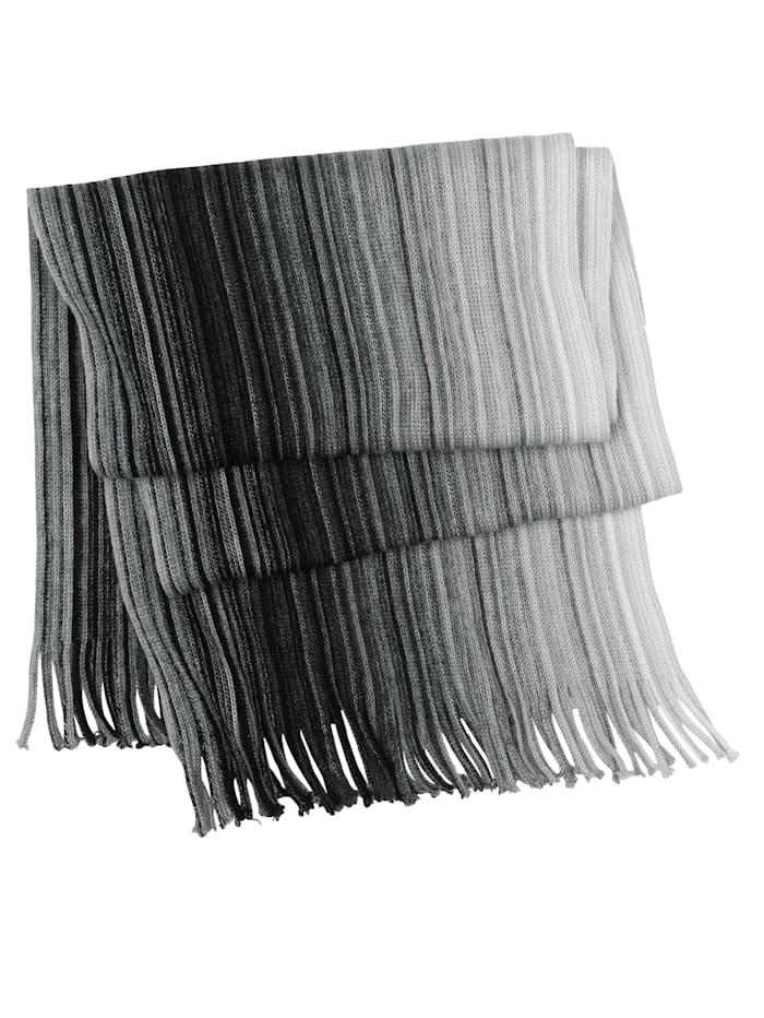 Schal in harmonischem Farbverlauf