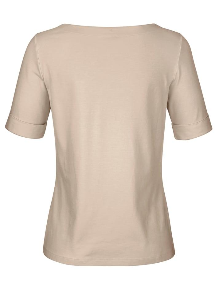 Shirt van een hoogwaardige materiaalmenging