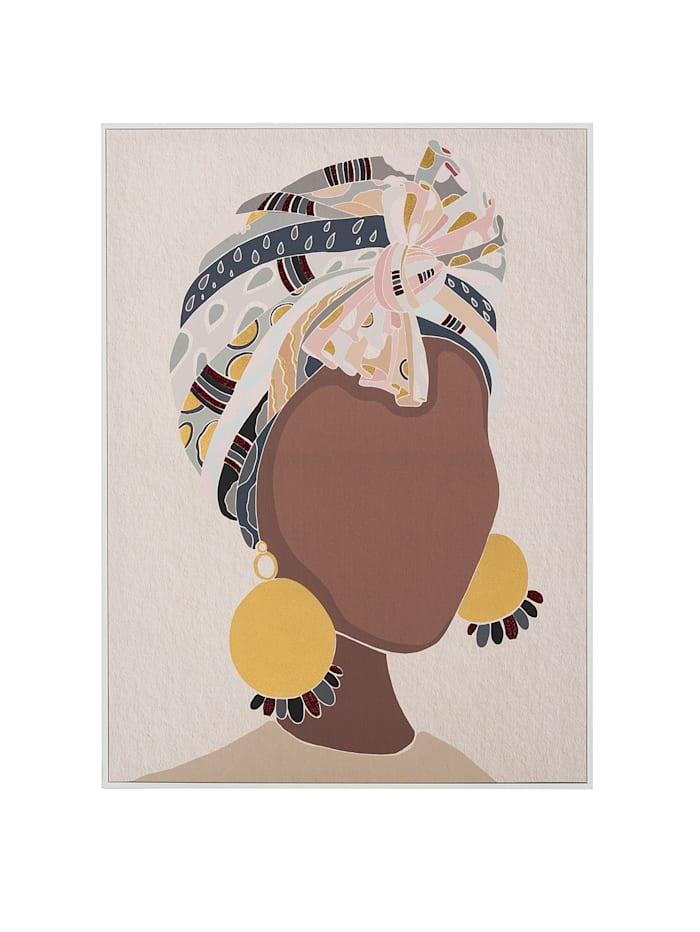 IMPRESSIONEN living Bild, Lady, multicolor