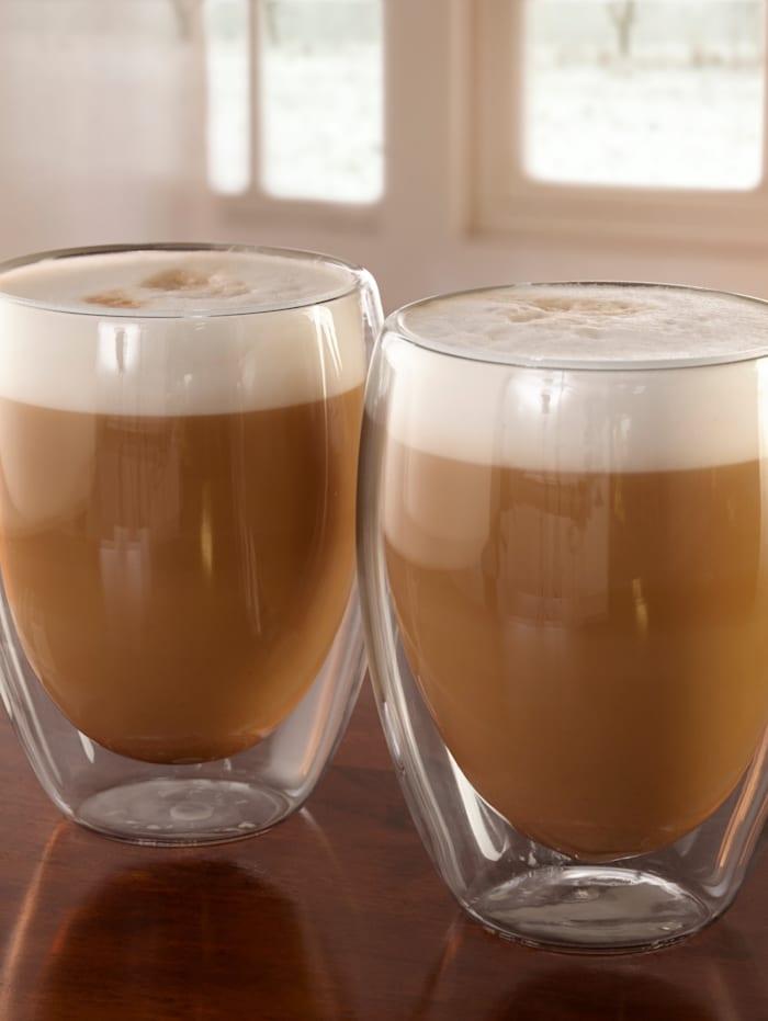 Lot de 2 verres à cappuccino
