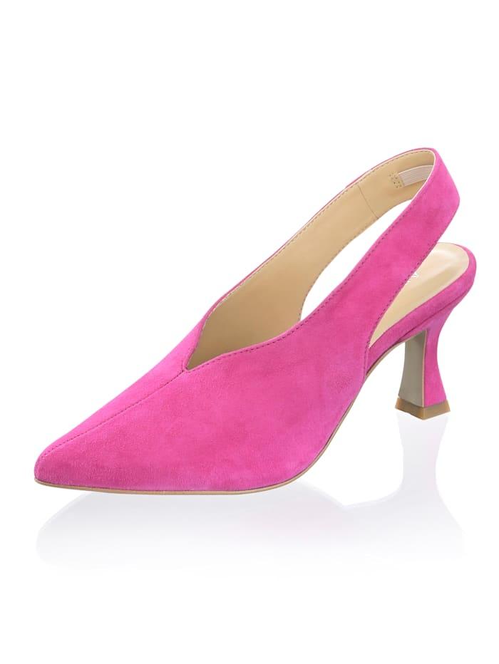 Alba Moda Slingpumps in klassischer Form, Pink