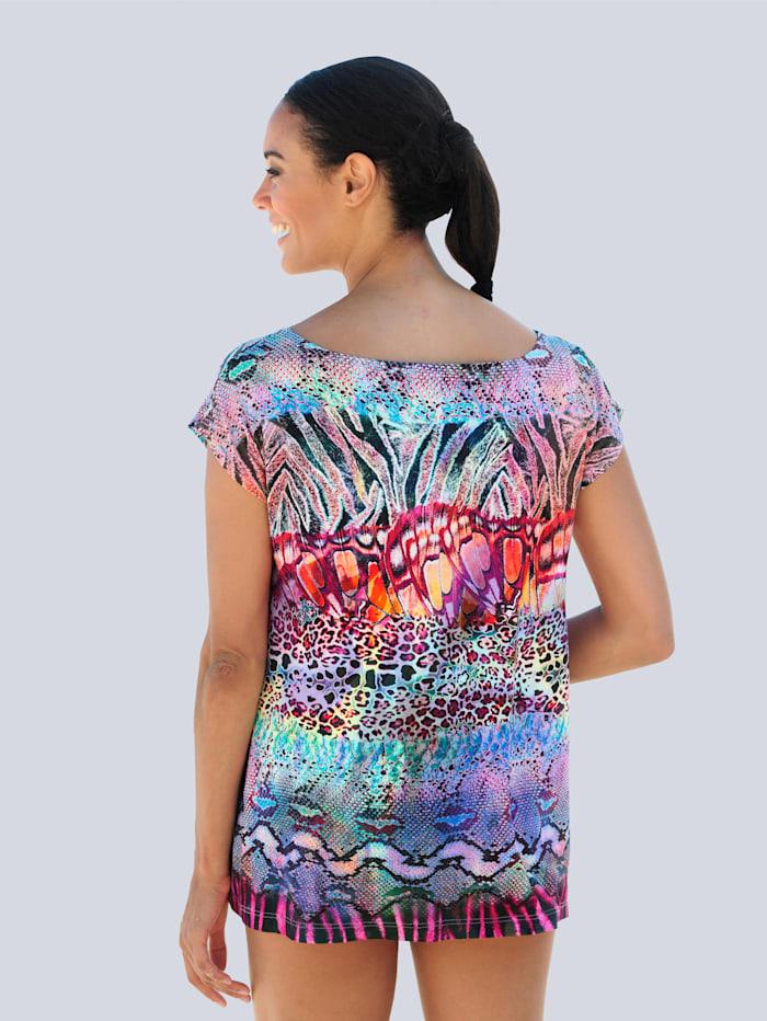 Strandshirt in bunten Farben