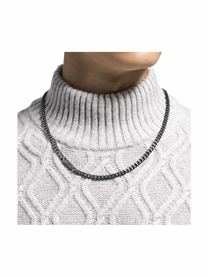 Halskette für Herren, Edelstahl, Motiv