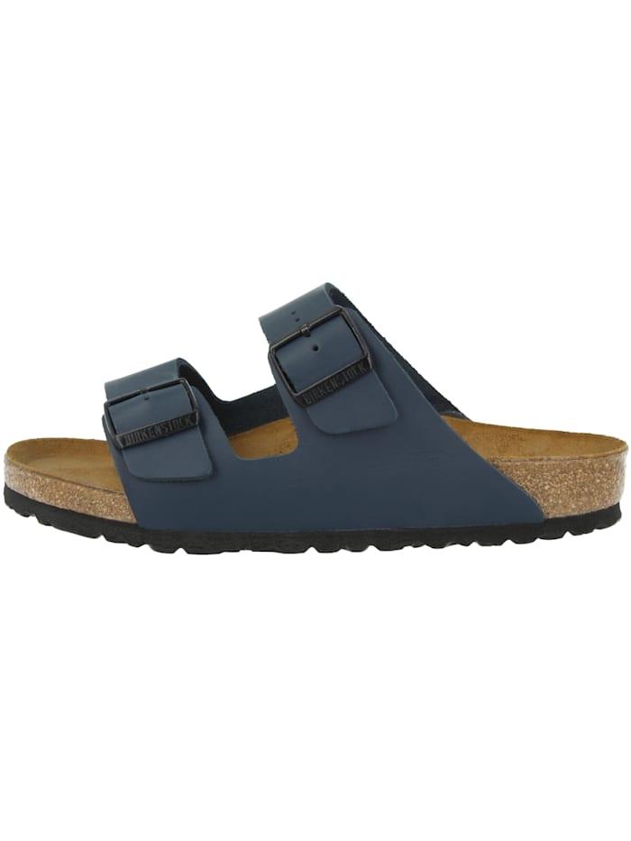 Birkenstock Sandale Arizona Glattleder schmal, blau