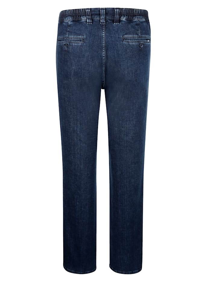 Swing-Pocket Jeans in Marken-Qualität