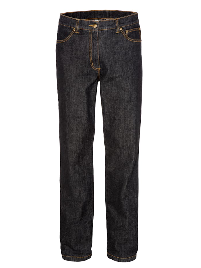 BABISTA Thermojeans met warme thermovoering, Zwart