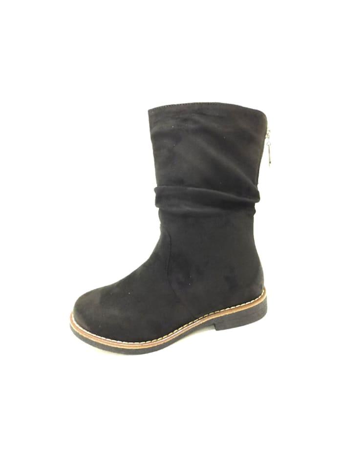 Rieker Damen Stiefelette in schwarz, schwarz