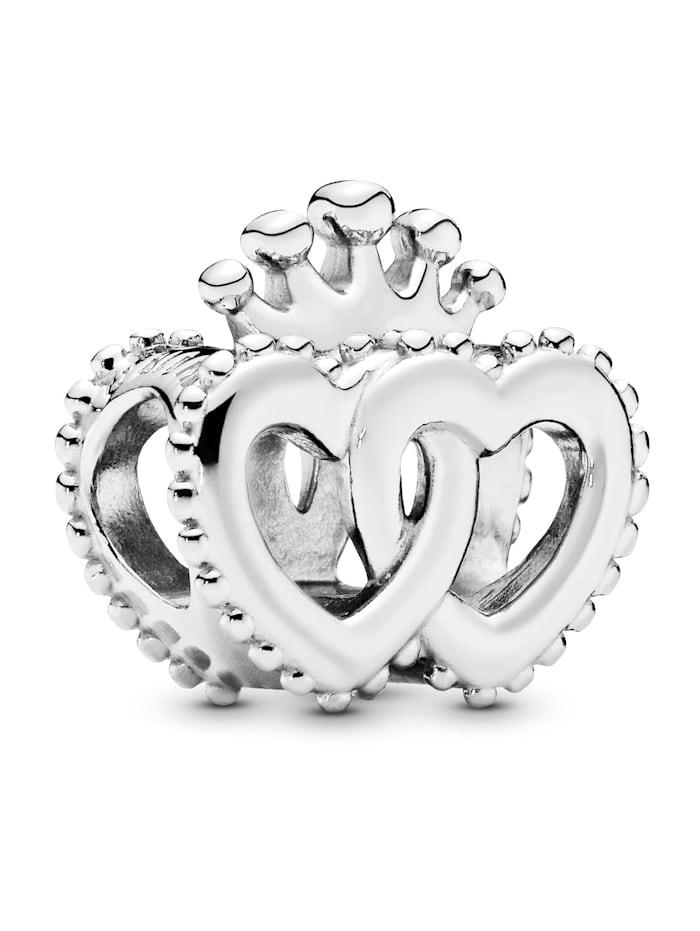 Pandora Charm -Vereinigte königliche Herzen- 797670, Silberfarben