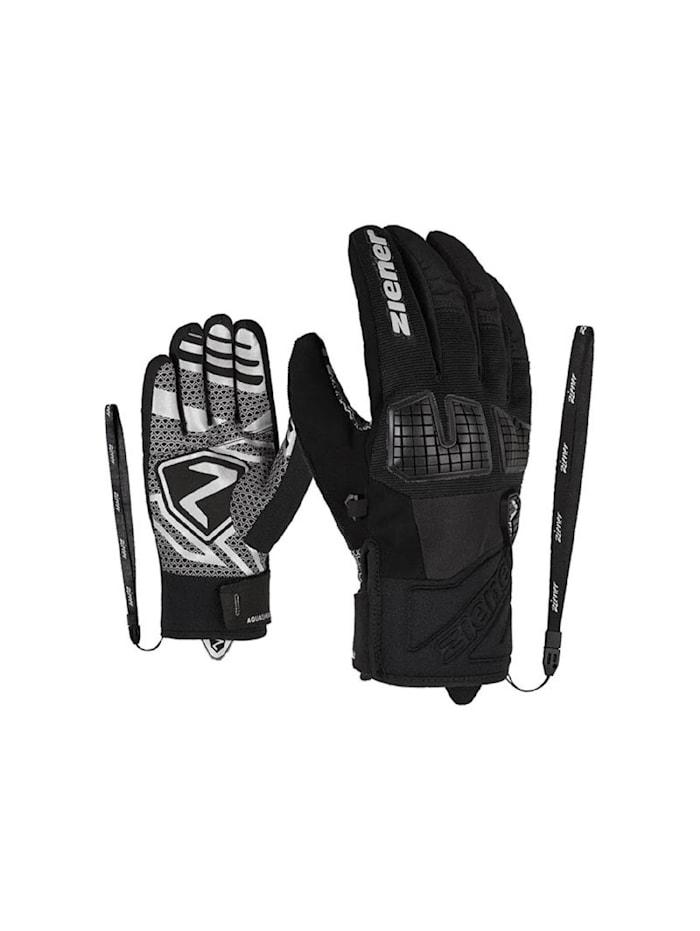 Ziener Ziener Skihandschuh GEXON AS(R), Schwarz-gemustert