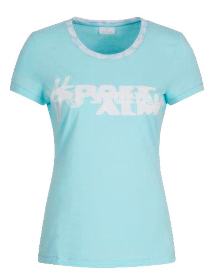 SPORTALM T-Shirt in modischer Farbe, Mintgrün