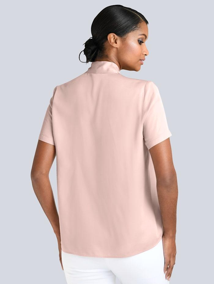 Bluse mit elegantem Strassbesatz