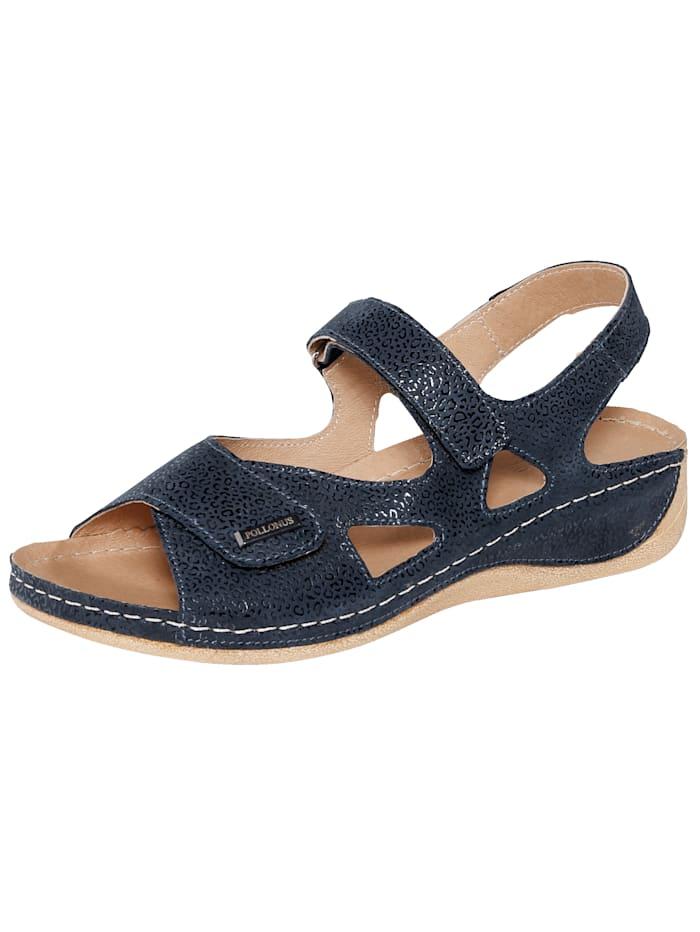 Naturläufer Sandals, Midnight Blue