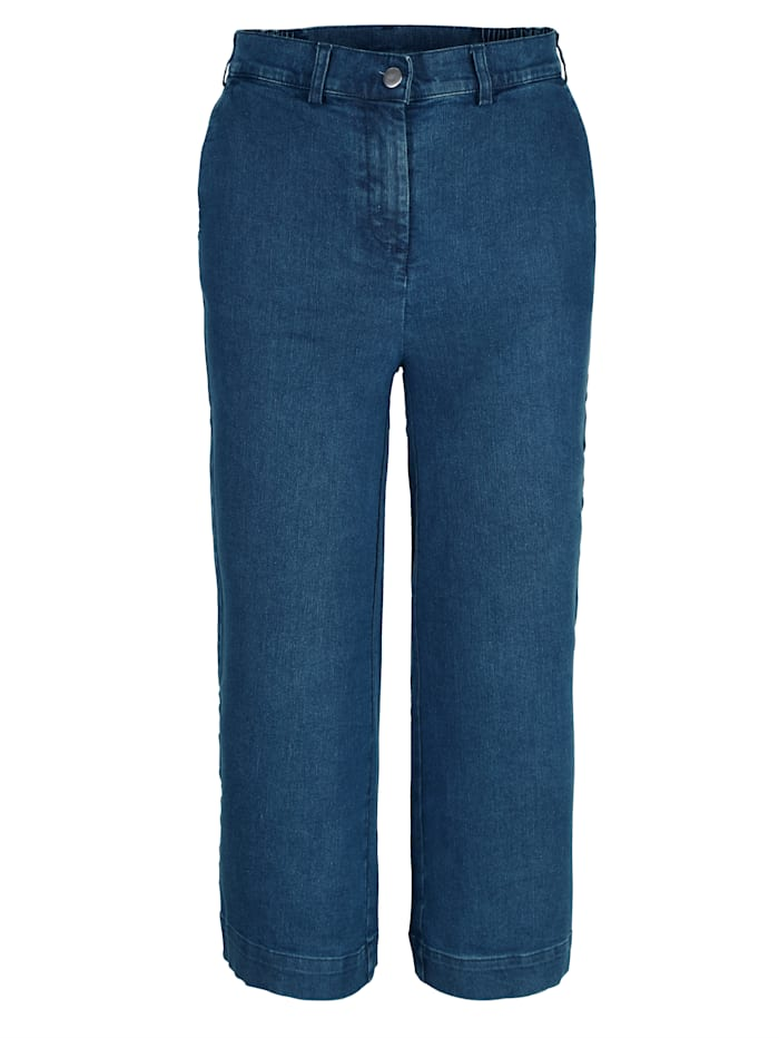 Jeans-Culotte in Stretchqualität