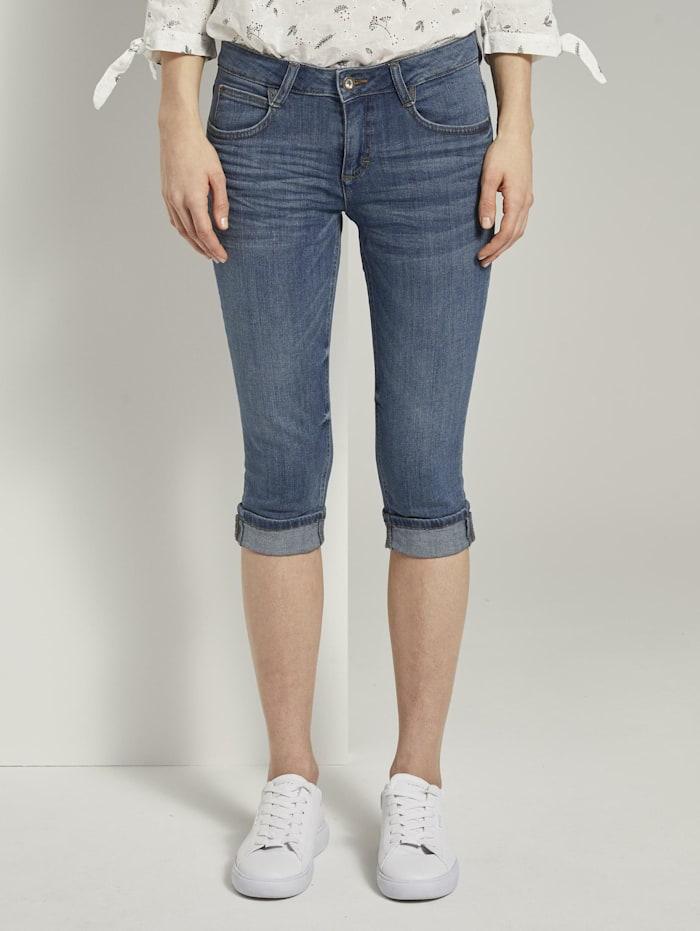 Tom Tailor Carrie Slim Capri-Jeans, Stone Blue Denim