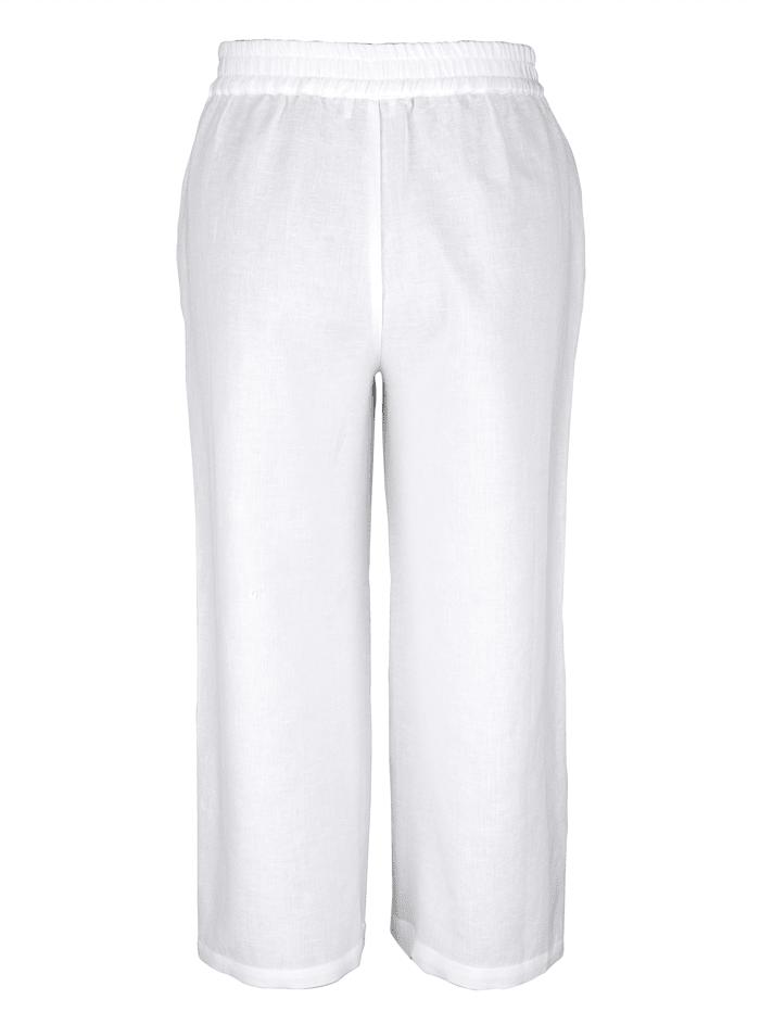 Nohavice z príjemného ľanového mixu