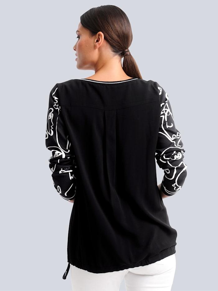 Shirt aus trageangenehmer Piquée-Qualität