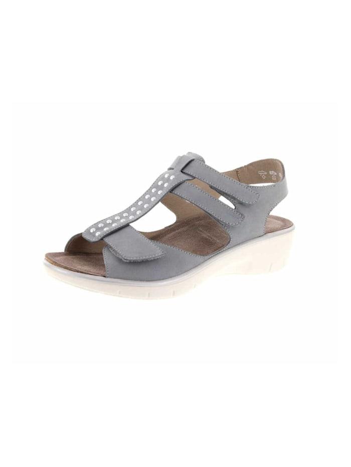 Solidus Sandale, hell-grau